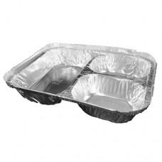 Pana de Aluminio de 3 Compartimiento