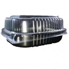 Empaque Plastico Base Negra Mediana (PC752)